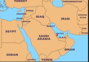 Best Qatar Map