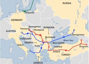 North Stream South Stream Nabucco