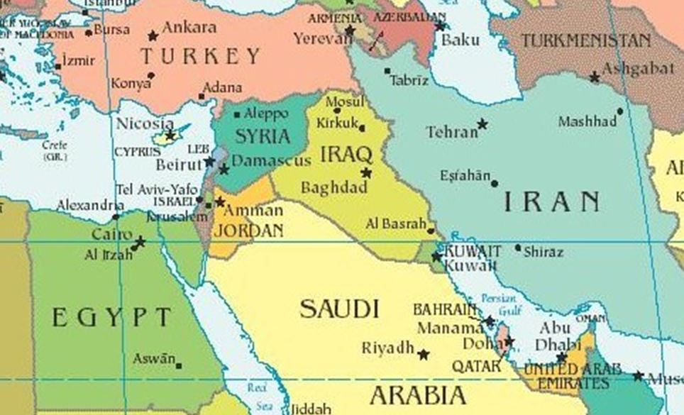 The Energy War Between Usa And Russia Threat For: Map Of Israel And Iran At Infoasik.co