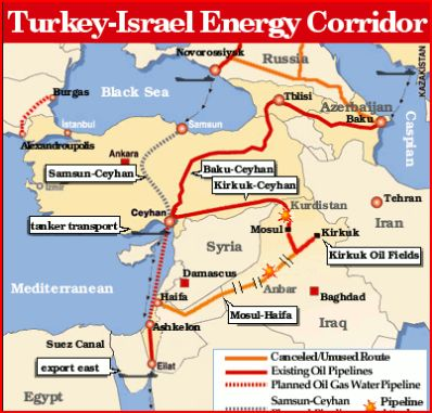 summary of the baku ceyhan pipeline The baku-tblisi-ceyhan (btc) pipeline, 1,090 miles (1,750km) long, and designed to carry 1 millions barrels of oil a day from the caucasus to the mediterranean when it reaches full capacity (scheduled for 2009), has been built by a consortium of western oil companies led by bp, which also includes the american oil giant halliburton, closely .