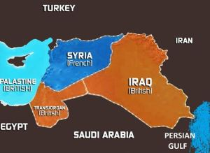 Picture 11Sykes Picot Agreement