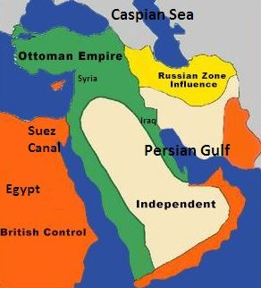 Middle East Map Before Wwii.The First World War For Oil 1914 1918 Similarities With The 2014