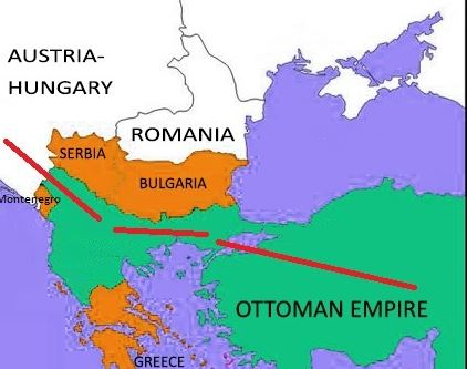 The first world war for oil 1914 1918 similarities with the 2014 picture 5 austrohungary borders turkey gumiabroncs