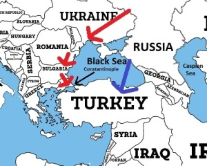 Russian Pipelines to Turkey