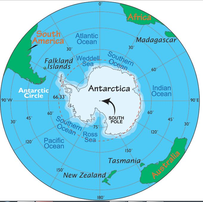 Falklands South Pole