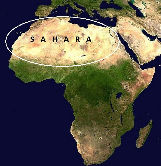 Africa Physical Map 2014 The Conflict Between E...