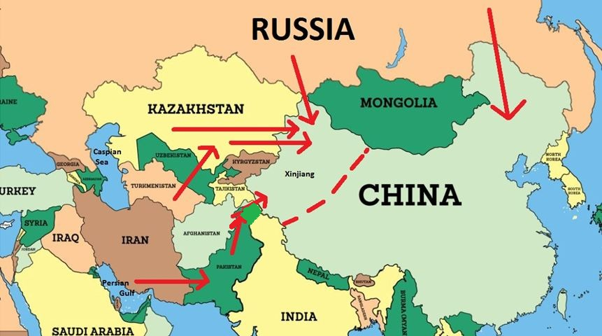 Turkey Russia And China In Central Asia Iakovos Alhadeff