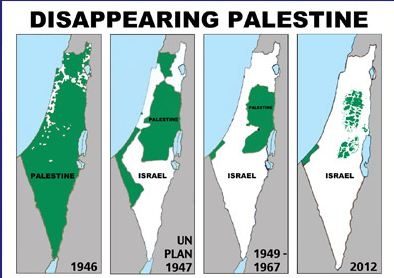 The Fake Map of Palestine