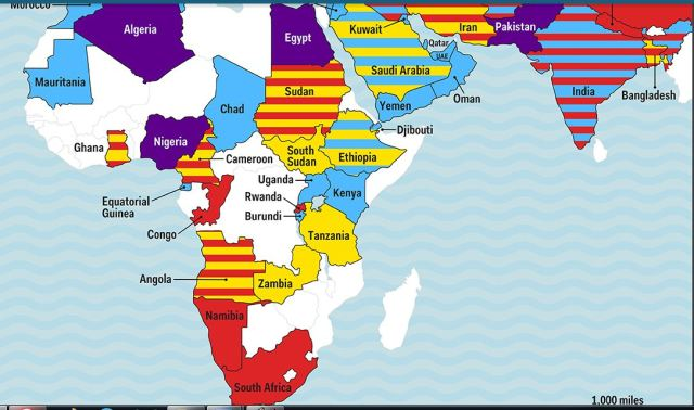 Map of Arms Trade 2