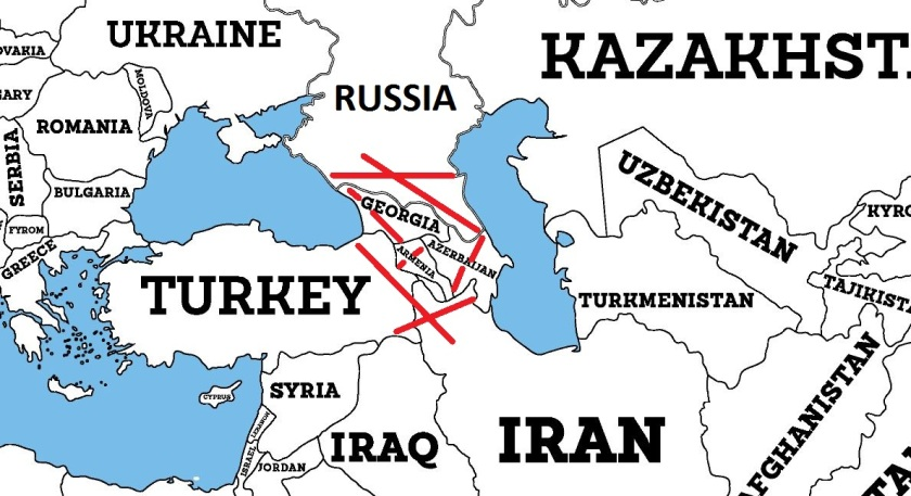 Russia Iran Turkey