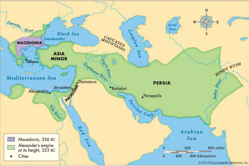 why did alexander invade the persian It's true that most books discussing alexander's invasion of persia say revenge  was the main motivator, payback for the greco-persian wars of.