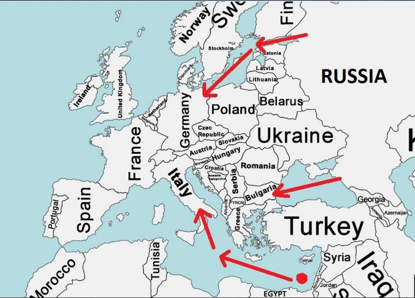 Map of South Stream and Nord Stream 2.JPG