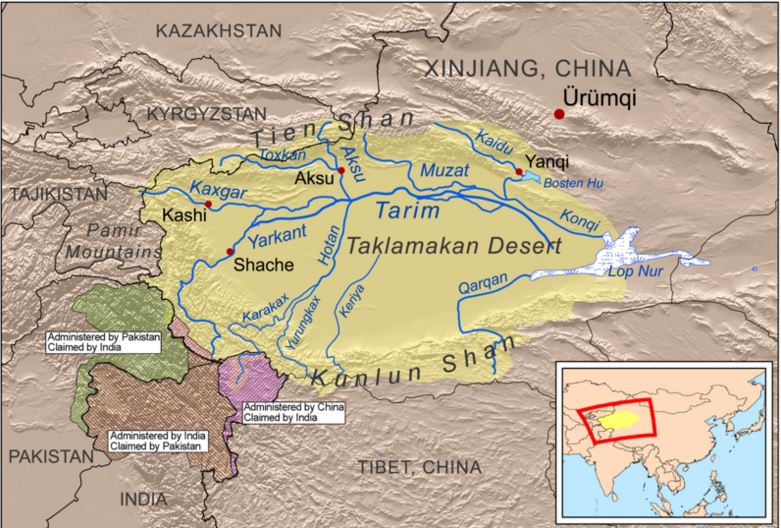 Map of Taklamakan Desert.JPG