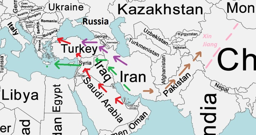 Map Russia Iran Middle East Pipelines.JPG