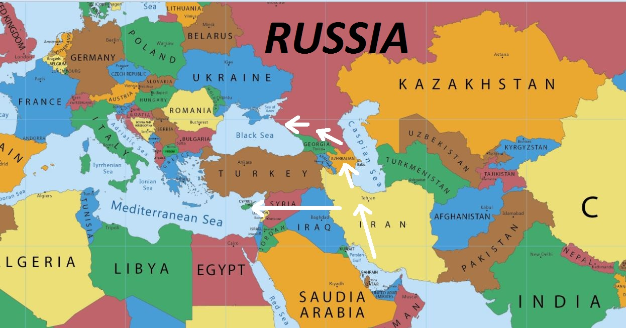 Russia Political Map Countries - Free Usa Maps
