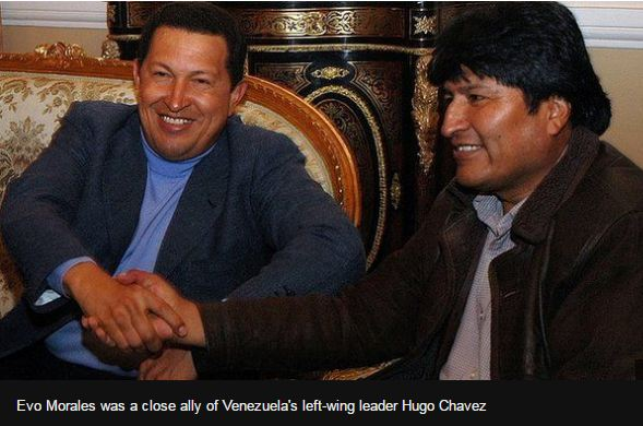 Hugo Chavez and Evo Morales.JPG