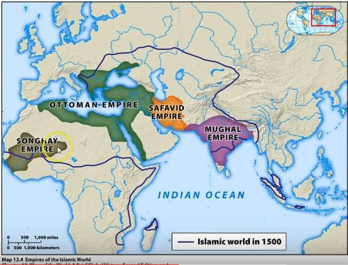 The Islamic World In 1500 C E And The Shift To The Atlantic