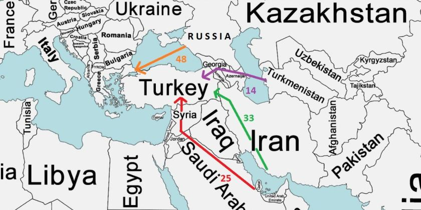 The myth of the iran iraq syria pipeline iakovos alhadeff natural gas pipelines mapg gumiabroncs Choice Image